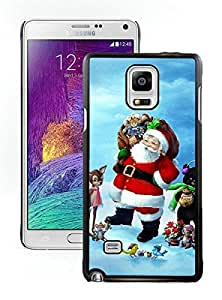 Best Buy Design Santa Claus Black Samsung Galaxy Note 4 Case 27