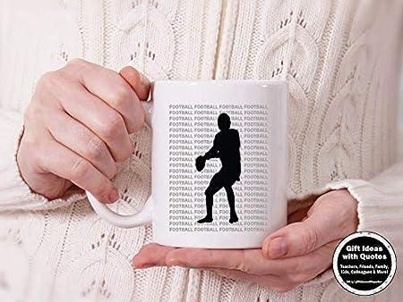 Taza de futbolín con diseño de entrenador de fútbol, ideal para regalar a los amantes del fútbol, taza de café, regalo para el padre: Amazon.es: Hogar