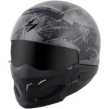 ScorpionExo Covert Unisex-Adult Half-Size-Style Ratnik Helmet (Phantom, X-Small)