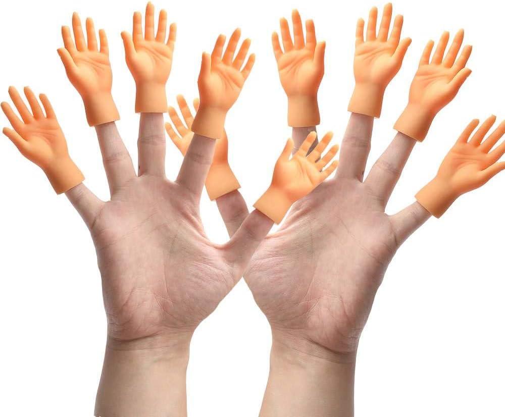 Joke Finger Puppet Small Finger Little Funny Trump Hand Foot Super Tiny Hand
