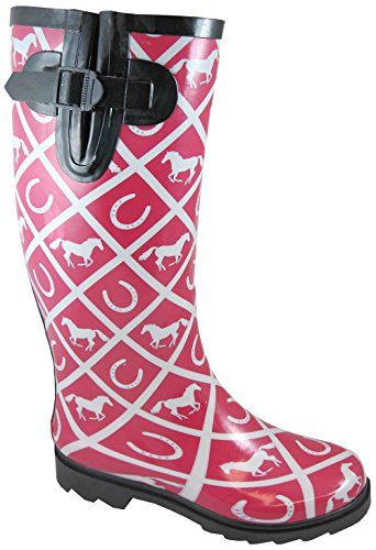 Smoky Mountain Ladies Cheshire Bottes En Caoutchouc 6