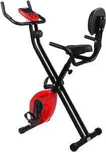 Finether-Bicicleta Estática Plegable Magnética con Respaldo ...