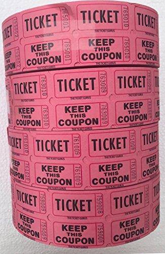 pink 50 50 tickets - 2