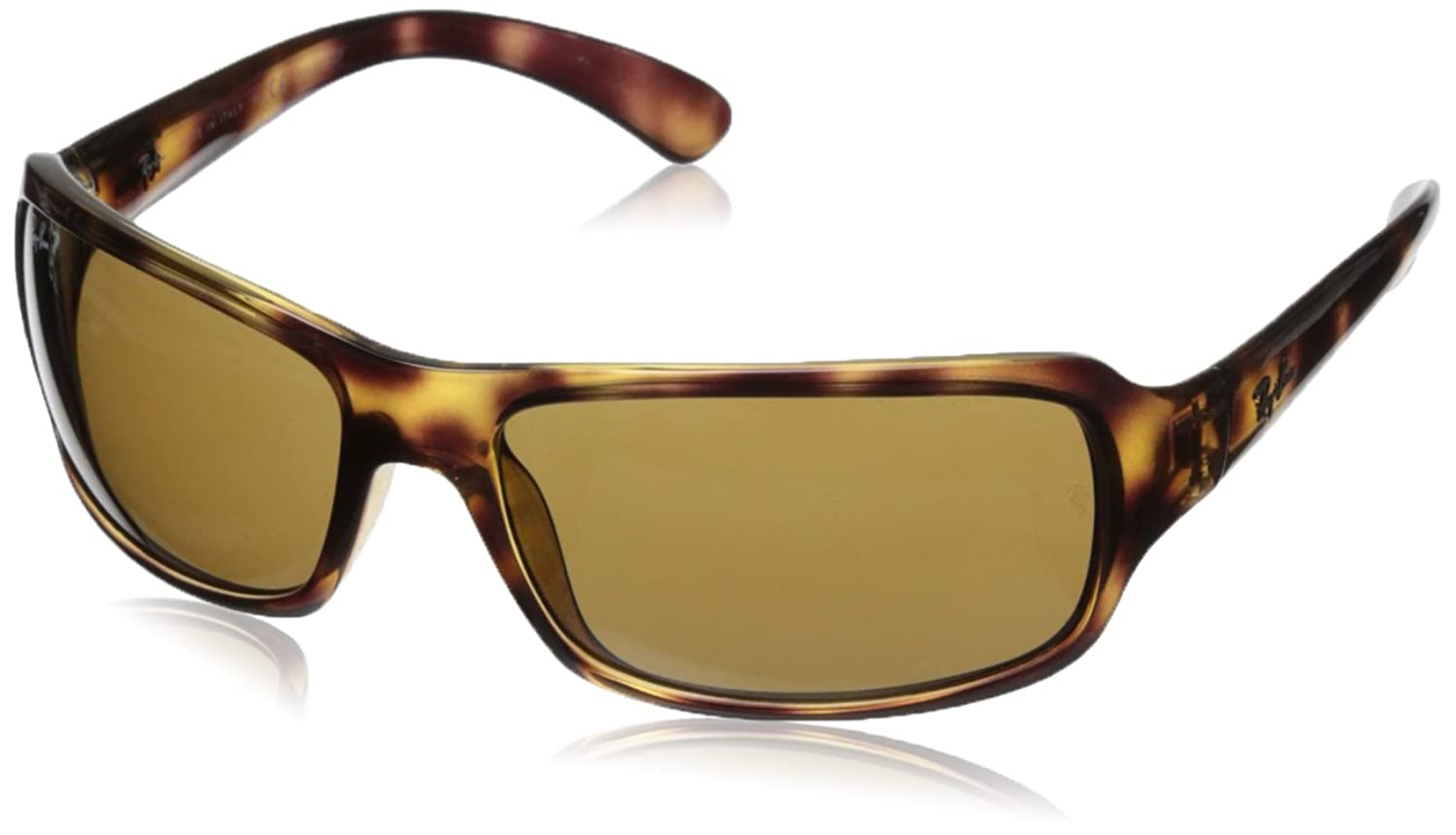 ray ban havana polarized sunglasses  amazon: ray ban rb4075 havana frame crystal brown polarized lenses 61mm polarized: ray ban: clothing
