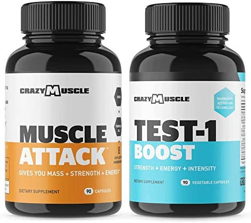 Bundle Muscle Attack Testosterone Tablets product image