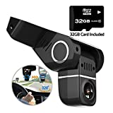 Pruveeo H1-Plus Dash Cam with 32GB Card Included, FHD 1080P 170 Degree Wide Angle Dash Camera for Cars For Sale