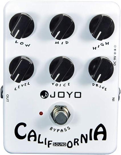 Joyo JF-15 - Pedal multiefecto para guitarra (batería zinc carbono): Amazon.es: Instrumentos musicales