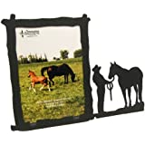 WOMAN HALTER 5X7 Vertical Picture Frame