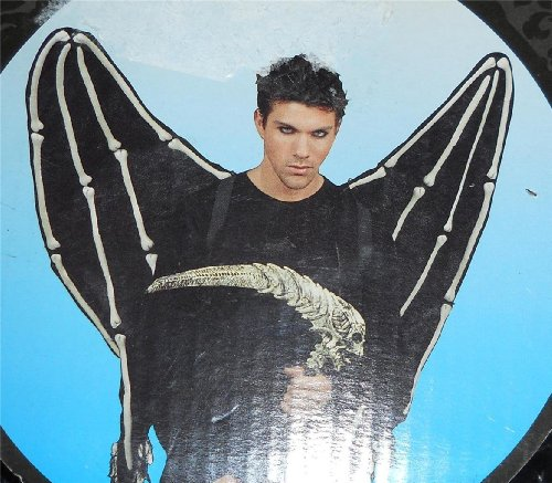 [Costume Devil Grim Reaper - Dark Fairy Halloween Costume Wings] (Dark Fairy Wings Costume)