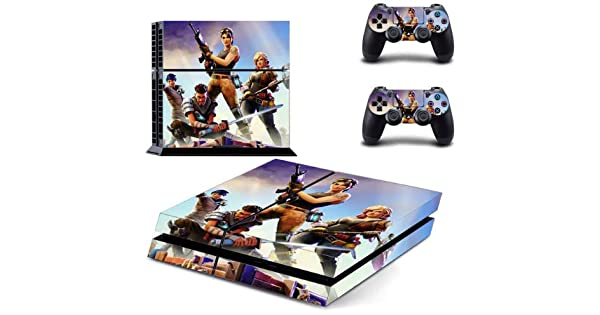 Pegatinas para Fortnit PS4 Skin Cubierta de la etiqueta engomada clásica de PVC para la consola Playstation 4 y etiqueta engomada de la piel del controlador ps4 (Estilo 3): Amazon.es: Videojuegos
