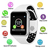 YHWH Fitness Tracker Smart Watch, Activity Tracker Bracelet with Heart Rate Monitor, IP68 Waterproof Fitness Band with Step Counter, Calorie Counter, Pedometer for Kids, Women, Men, Android & iOS