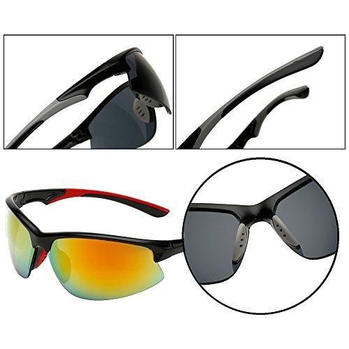 3ce6a9e153 70% OFF Fuyingda Unisex Hombres y Mujeres gafas de sol de deporte al aire  libre