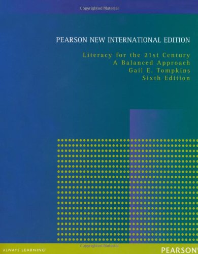 Century Limited Edition - Literacy for the 21st Century: Pearson New International Edition: A Balanced Approach