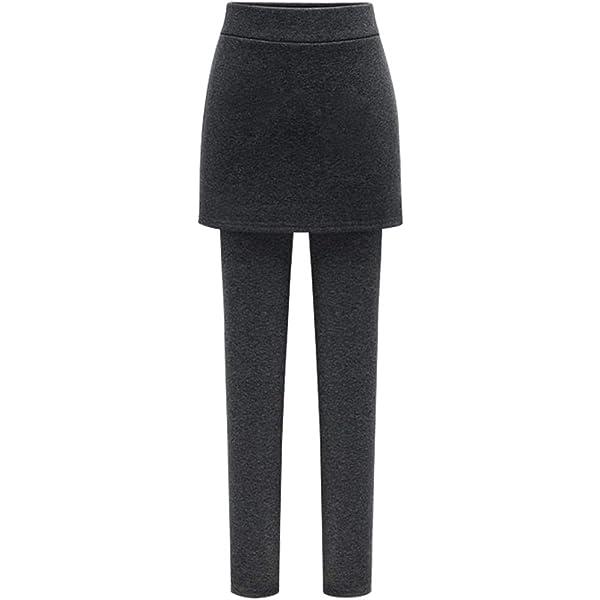 Falda Pantalones Para Mujer Elásticos De Yoga Leggins Pantalones ...