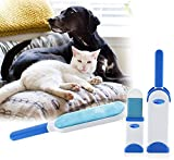 uHome Fur Remover Pet Hair, Dust, Lint Remover for Clothing and Furniture, Double Sided, Self-Cleaning and Reusable