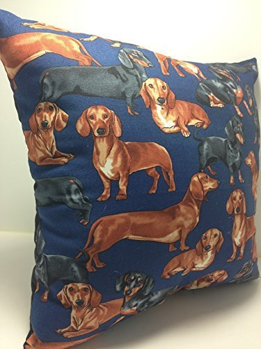 Novelty Accent Throw Pillow Dachshunds by Group One Home®