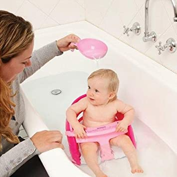Dreambaby Deluxe Bath Seat Pink with Pink Scoop: Amazon.co.uk: Baby