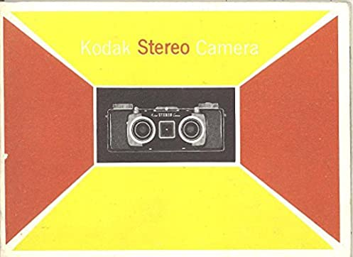 kodak stereo camera original instruction manual kodak amazon com rh amazon com Kodak Stereo Camera Film Kodaslide Stereo Viewer