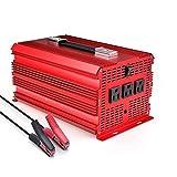 [ETL Listed] BESTEK 3 AC Outlets 2000W Power Inverter with Car Battery Clip & Car Cigarette Lighter Adaptor