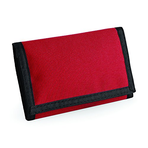 BagBase Ripper - Cartera, 3 caras, 10colores rojo clásico