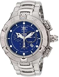 Invicta Mens INVICTA-12885 Subaqua Analog Display Swiss Quartz Silver Watch