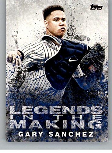 2018 Topps Legends in the Making #LITM-17 Gary SanchezYork Yankees Baseball Card