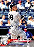 2018 Topps #193 Aaron Judge New York Yankees Baseball Card