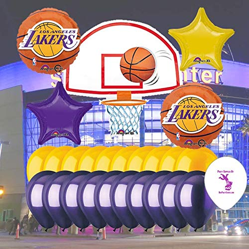 Anagram LA Lakers Balloon Set ()