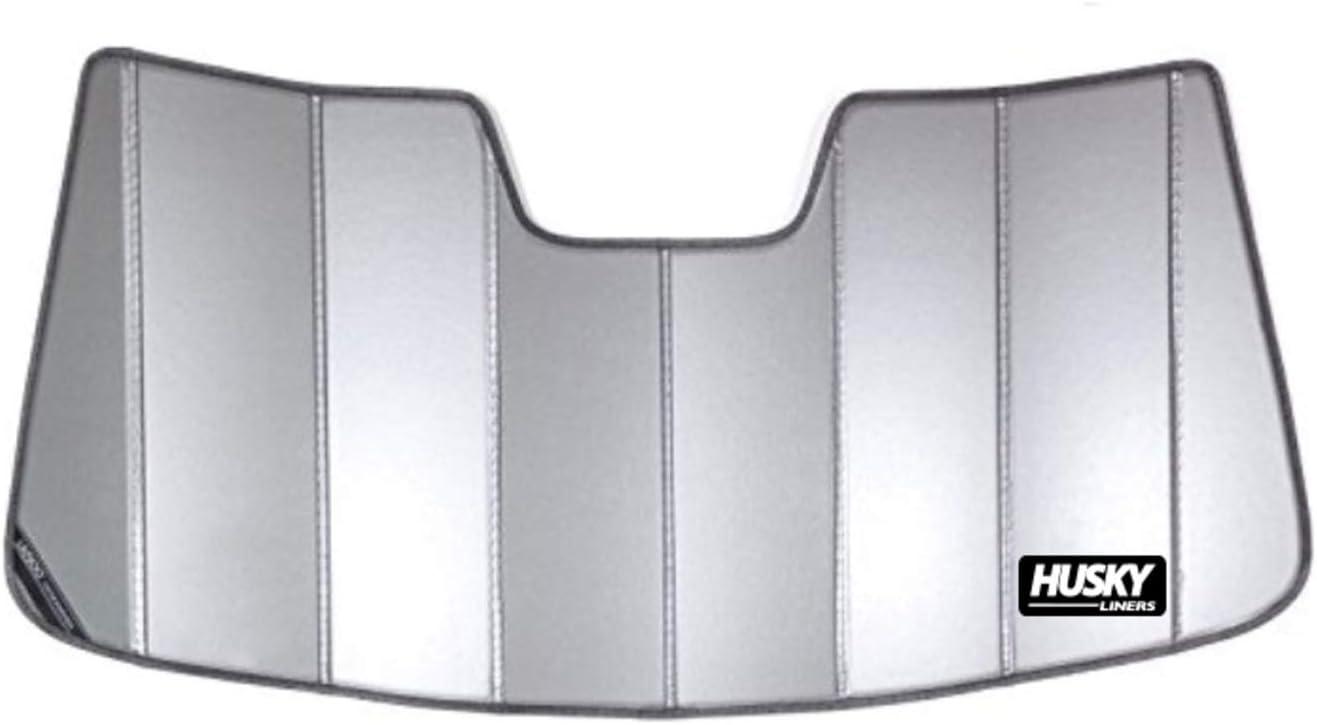 Husky Liners 97007 Black Custom Sunshade Fits 2015-20 F-150, 2017-20 Ford f-250/F-350