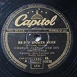 78rpm CHARLIE BARNET be-bop spoken here / gloomy sunday