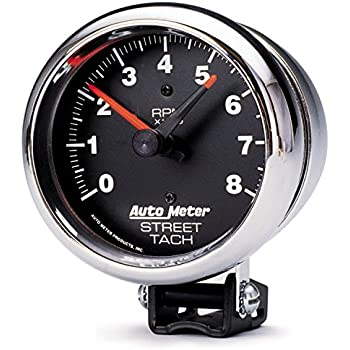 amazon com auto meter 2895 performance street tachometer automotiveauto meter 2895 performance street tachometer