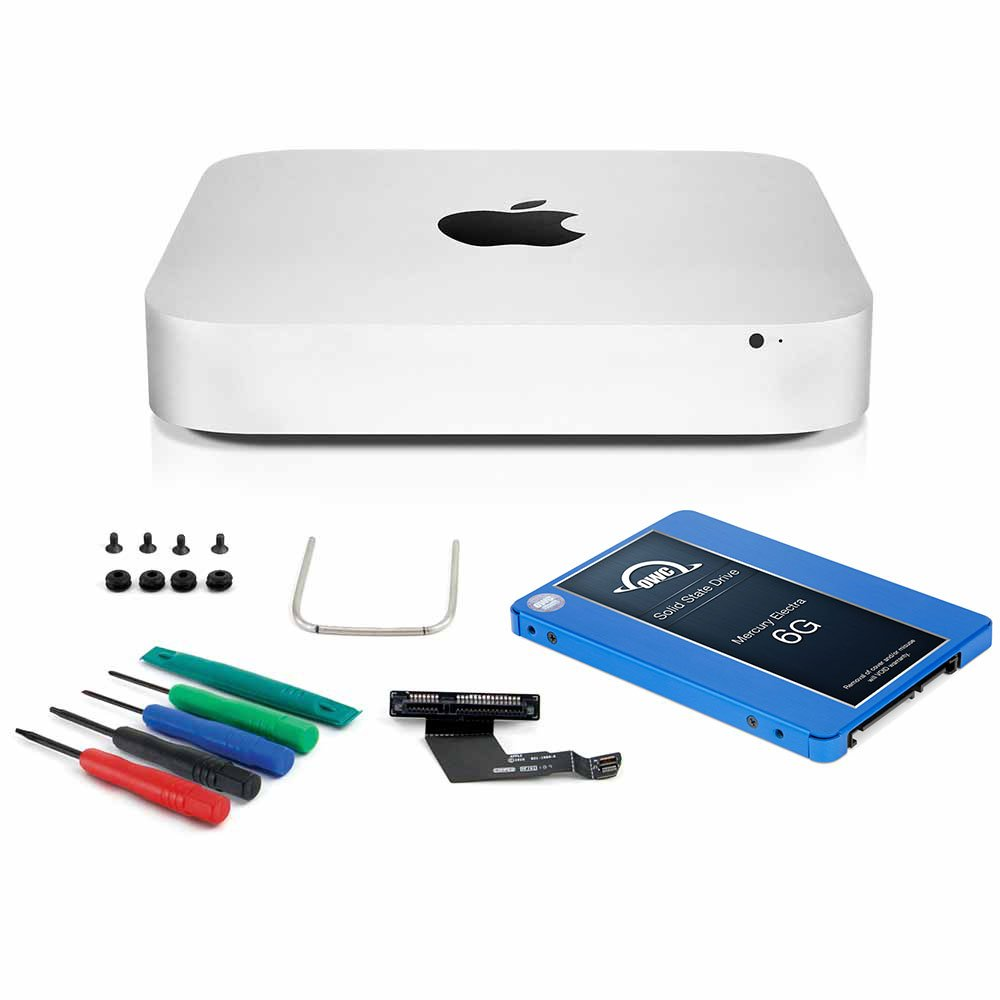 OWC 250GB Electra 6G SSD DIY Upgrade Bundle For 2011, 2012 Mac Mini, includes Data Doubler, 5-piece Installation ToolKit