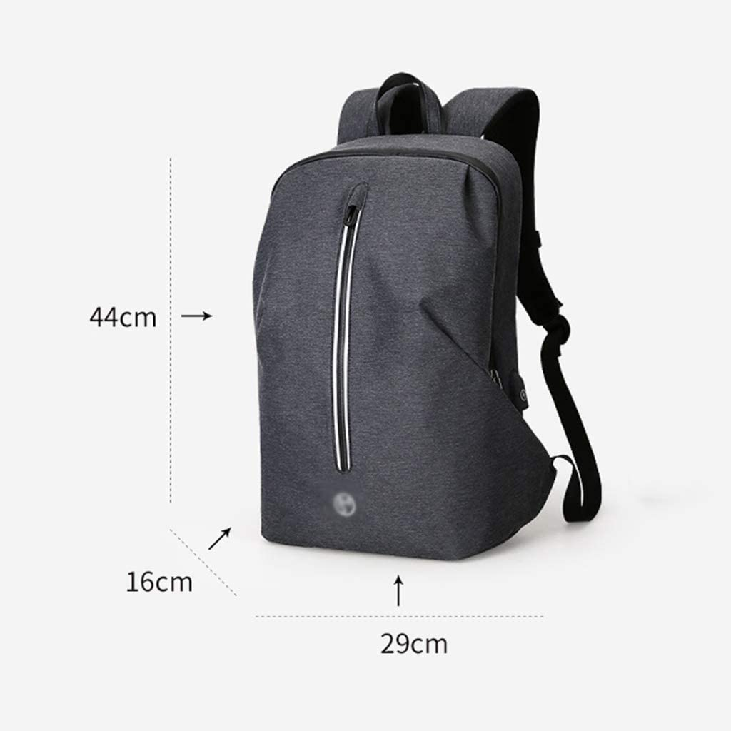 KIMSAI Large Capacity Backpack Student Bag Youth Travel Package Simple Casual Computer Bag Fashion Trend Backpack Multi-Functional Mens Backpack Light Outdoor,Black,291644CM