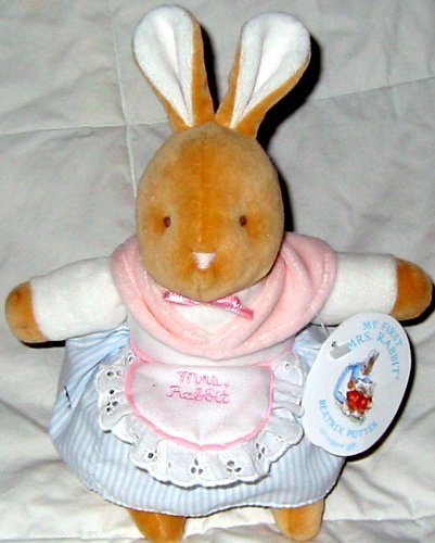 My First Mrs. Rabbit Plush from Peter Rabbit