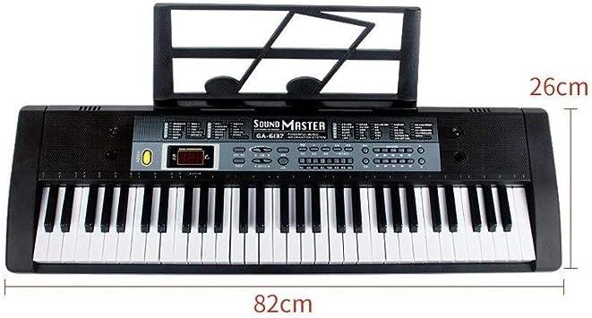 HXGL-piano Teclado Inteligente Multifuncional Niños Adultos ...