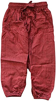 New Children Long Baggy Trousers Handmade in Nepal Hippie Clothes