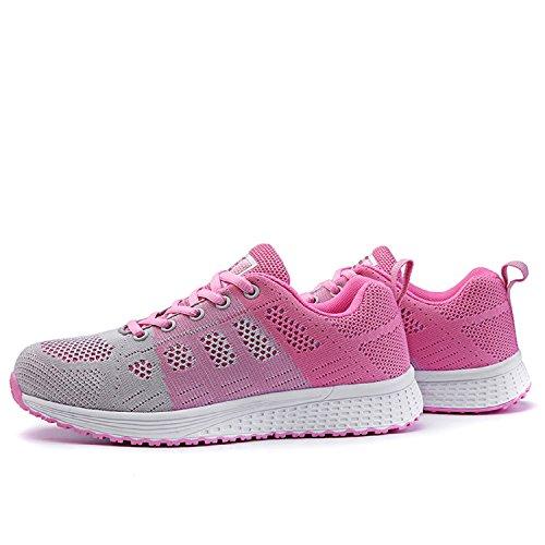 Damen Atmungsaktive Fitness Turnschuhe Sneaker Lily999 Laufschuhe SGUzVqMp