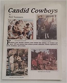Book Candid Cowboys