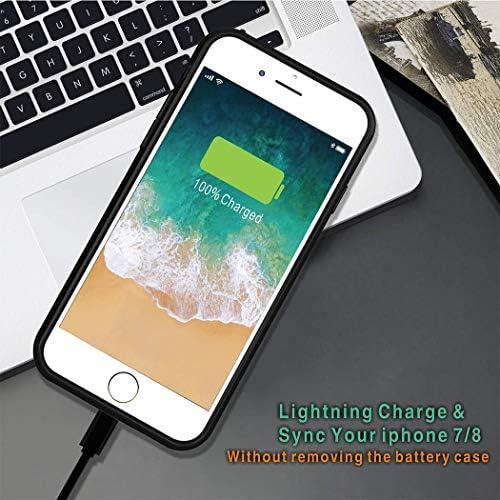 Venevix - Carcasa para iPhone 7/8 (3000 mAh)