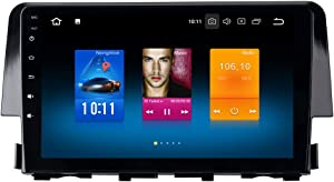 "Dasaita Android 9.0 Car Stereo for Honda Civic 2016 2017 Radio with 9"" Screen & GPS Navigation & 4GB Ram 32GB ROM Head Unit (Honda Civic 2015 2016 2017)"