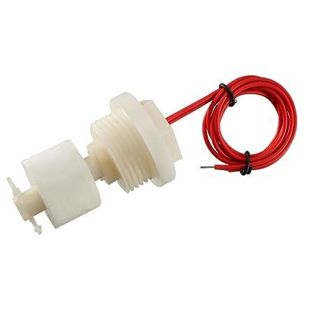 sourcingmap® 23 mm Diámetro del interruptor de bola de agua vertical del flotador de nivel