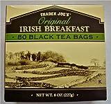 4 X Trader Joe's Original Irish Breakfast Tea (80 Black Tea Bags Per Box)