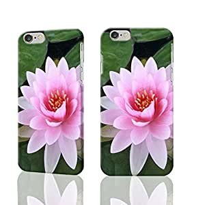 "Pinkish Lotus Flower 3D Rough iphone 6 -4.7 inches Case Skin, fashion design image custom iPhone 6 - 4.7 inches , durable iphone 6 hard 3D case cover for iphone 6 (4.7""), Case New Design By Codystore"