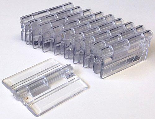 Acryl-Hinge Small Acrylic Hinge 10 Pack