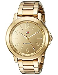 Tommy Hilfiger Women's 'SPORT' Quartz and Stainless-Steel Casual Watch, Color Gold-Toned (Model: 1781751)