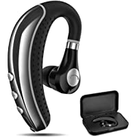 Bluetooth Headset COMEXION V5.0 Bluetooth Earpiece with Mic and Mute Key Wireless Noise Reduction Business Earphone for…
