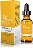 Anti-Aging Vitamin C Facial Serum, By Lilian Fache, Topically Applied for Refreshed and Hydrated Skin, Look Youthful Again, 1.0 fl oz - Pack Of Six