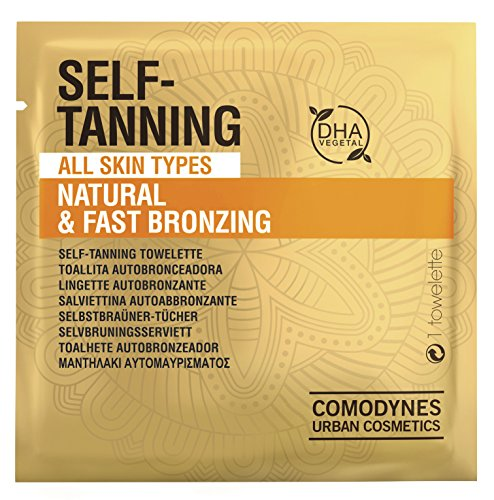 Comodynes Self Tanning Towelettes Face Body 8 product image