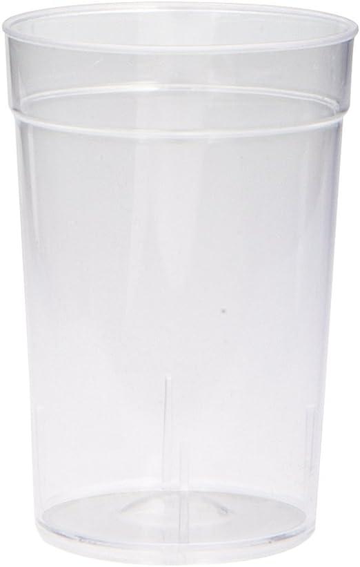 20ct 2oz Clear Plastic Disposable Shot Glasses