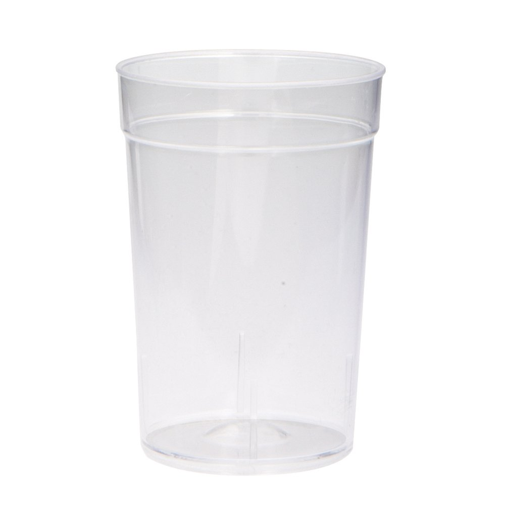 2oz Clear Plastic Disposable Shot Glasses, 20ct Unique 49401